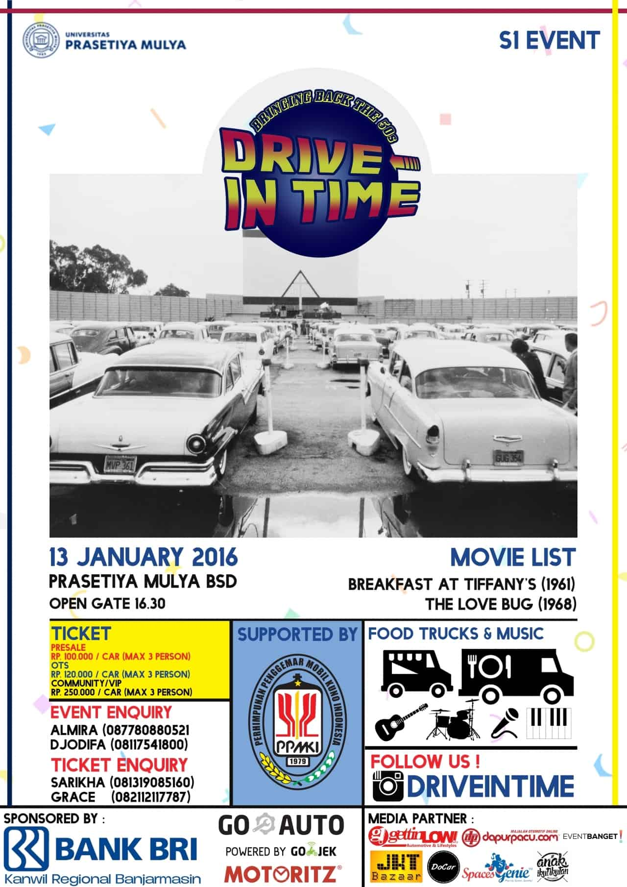 drive-in time