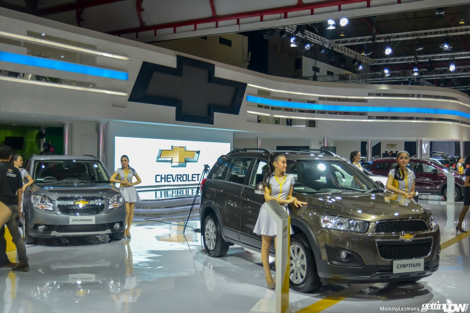 Chevrolet booth