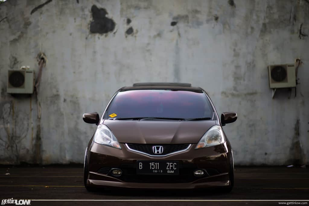 Christopher Sinaga: 2009 Bagged Honda Jazz