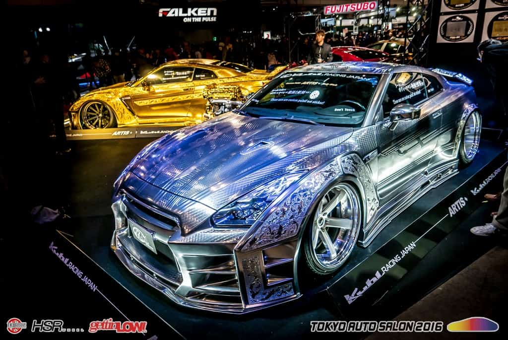 Tokyo Auto Salon 2016, GettinLow's overview from Tokyo-Japan